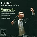 Stravinsky: The Song of the Nightingale, The Firebird Suite, The Rite of Spring