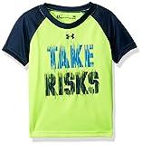Under Armour Baby Boys Take Risks Short Sleeve T-Shirt, Hi GH/VIS Yellow, 18M