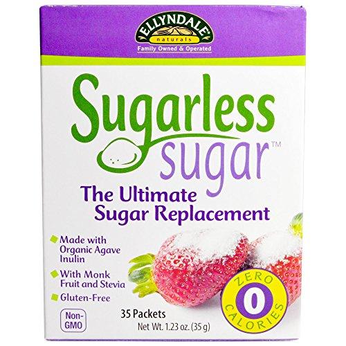 Sugarless Sugar Packets with Monk Fruit Ellyndale Organics 35 Box