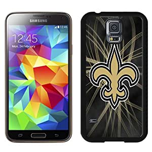 Fashionable Samsung Galaxy S5 I9600 Case ,Unique And Lovely Designed Case With New Orleans Saints 27 Black Samsung Galaxy S5 Cover Phone Case