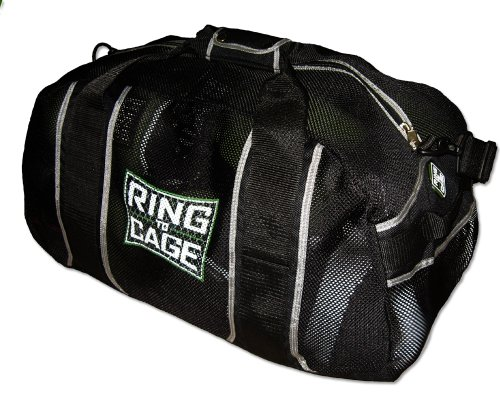 (Ring to Cage R2C Mesh Gear Bag for Muay Thai, MMA, Kickboxing, Boxing, Martial Arts)