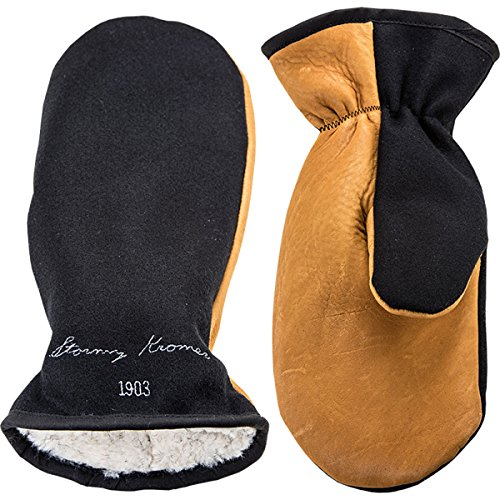 Stormy Kromer Men's Tough Mitts Gloves,Black,M