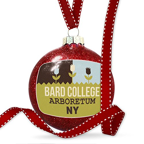 Christmas Decoration US Gardens Bard College Arboretum - NY Ornament by NEONBLOND (Image #3)