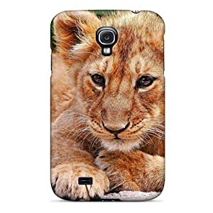 Hard Plastic Galaxy S4 Case Back Cover,hot Lion Kid Case At Perfect Diy