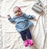Waddle Girl Pom Pom Favorite Rattle Socks Pink and