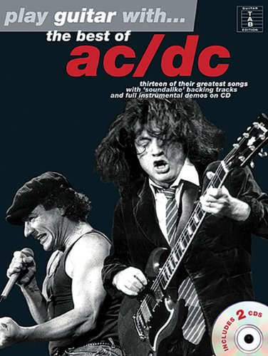 PLAY GTR AC/DC THE BEST + CD Play guitar/bass/drum/PF..with ...