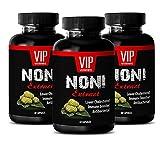 antioxidant Immune Booster - NONI Extract 500MG - Immunity Booster - Brain Memory Pills - 3 Bottles (180 Capsules)