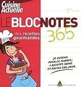 BLOC NOTE IDEES RECETTES