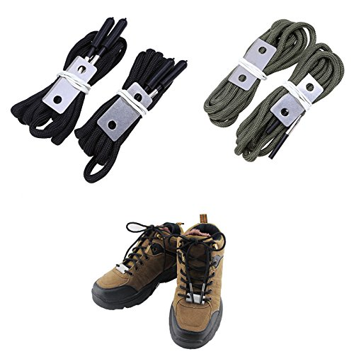 Whosee Outdoor Shoelaces Survival Lifesaving product image