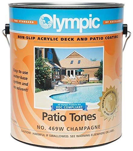 Olympic Patio Tones Deck Coating - Champagne - 6 ()