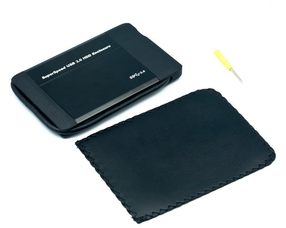 QUMOX Carcasa Funda para disco duro externo SATA de 2.5