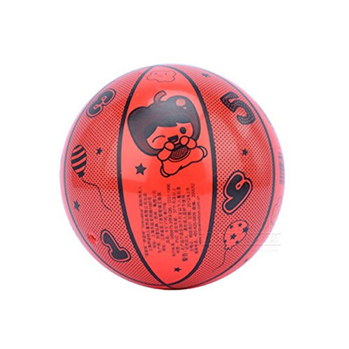 [RED Letter] INNOVATIVE Kid PVC Ball Children Beach Summer Party Ball, 8.5'' by Panda Superstore