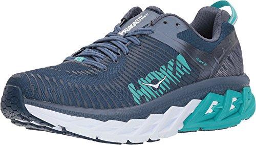 HOKA ONE ONE Womens Arahi 2 Poseidon/Vintage Indigo Running Shoe - 7.5