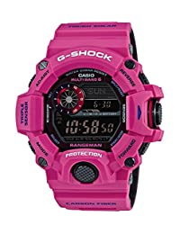 Casio G-Shock MASTER OF G Series Man in Sunrise Purple RANGEMAN Mens Resin Watch GW9400SRJ-4