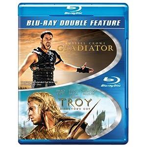 Troy / Gladiator (BD) (DBFE) [Blu-ray] (2013)