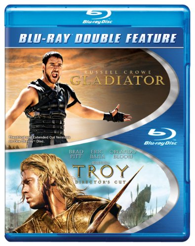 Blu-ray : Troy / Gladiator (2PC)