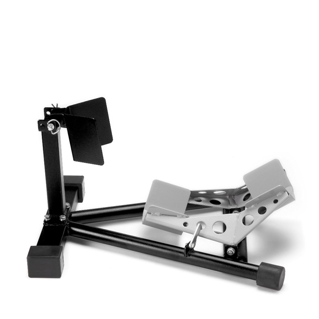–  Rueda abrazadera, balancí n negro rueda delantera soporte de montaje balancín negro rueda delantera soporte de montaje MotoLibre