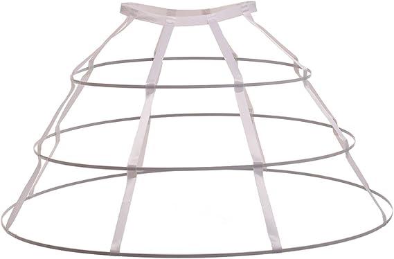 GRACEART Crinoline Hoop Cage Skirt Panni…
