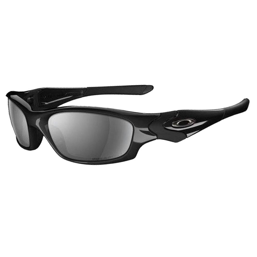 Oakley Straight Jacket Sunglasses in Jet Black Iridium Polarised OO9039 12- 935 61 61 Black Iridium Polarised  Amazon.fr  Vêtements et accessoires 512f8feb59b7