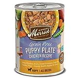 Merrick Grain Free Puppy Plate Wet Puppy Food, 12.7 oz.