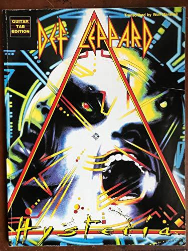 Def Leppard -- Hysteria: Guitar/TAB - Leppard Guitar Def Hysteria Tab