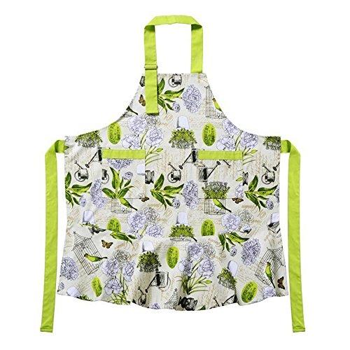 with Pockets Cotton Canvans KINGO HOME Adjustable 100/% Cotton Garden Cooking Women Kitchen Bib Aprons Machine Washable