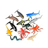 4'' Sea Life Animals (With Sticky Notes)