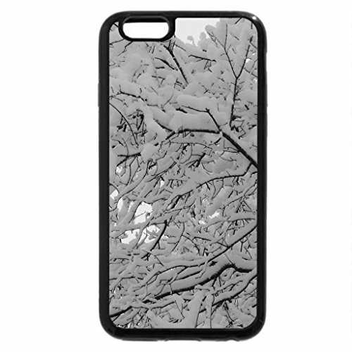iPhone 6S Plus Case, iPhone 6 Plus Case (Black & White) - Snowfall Of 2013