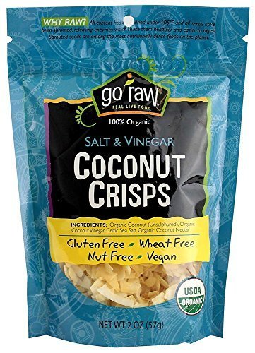 Coconut Crisps Salt & Vinegar 2 Ounces (Case of 12)