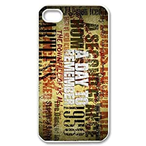 Customize Famous Rock Band A Day To Remember Back Case for iphone4 4S JN4S-1734