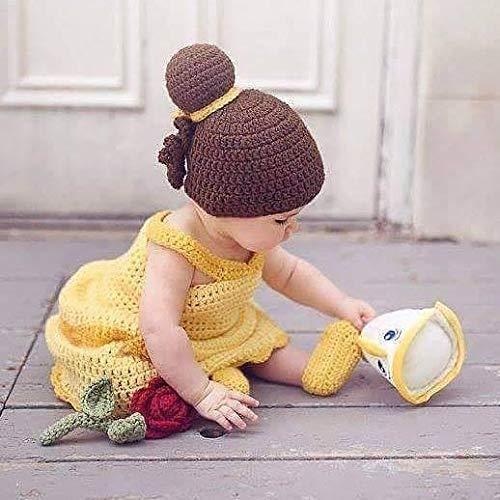 ca87657ce08 Amazon.com: Crochet Baby Belle Beauty and the Beast Infant Newborn ...