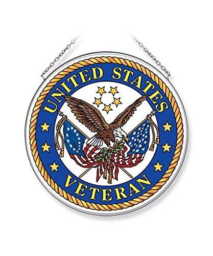 Navy Suncatcher (Amia United States Veteran Glass Suncatcher, 6-1/2