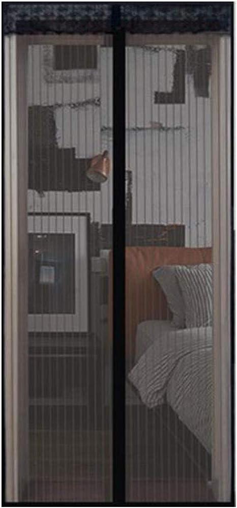 TYZXR MagnéTica Mantiene Insectos Moscas Cortina Mosquitera para Cortina De Sala De Estar La Puerta del BalcóN Puerta Corredera De Patio 90 * 210 Cm: Amazon.es: Deportes y aire libre