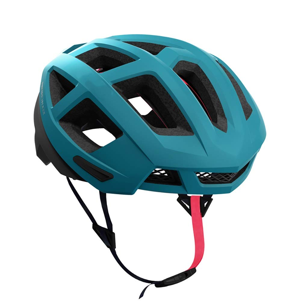 Guoqing Unisex Bicycle, Scooter, Roller Skating Balance Helmet, Light and Comfortable, Cool and Ventilated (Color : Blue, Size : XL)