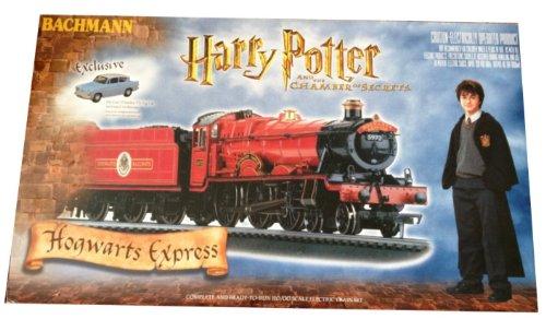 Harry Potter Chamber of Secrets Hogwarts Express Train Set