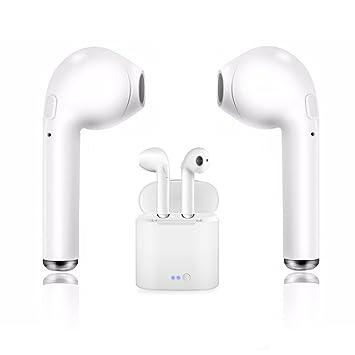 Naack Auriculares inalámbricos Bluetooth Modelo I7S + Enhanced | Mejoras en Calidad de Sonido y batería