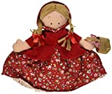 Topsy Turvy Doll - Little Red Riding Hood, Grandmother, And Wolf