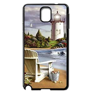 ALICASE Diy Case Lighthouse For samsung galaxy note 3 N9000 [Pattern-3]