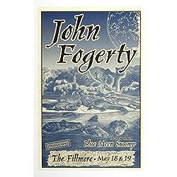 John Fogerty Poster Blue Moon Swap Tour 1997 May 18 The Fillmore San Francisco