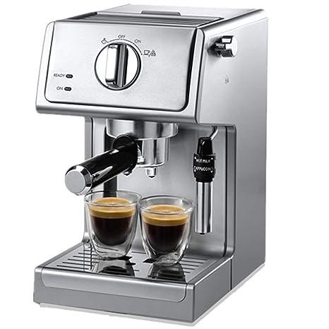 LJINM Máquina de café Espresso Tradicional con Bomba 1100 vatios, Capacidad del Tanque de Agua
