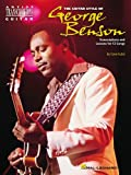 The Guitar Style of George Benson, Dave Rubin, 0634011324