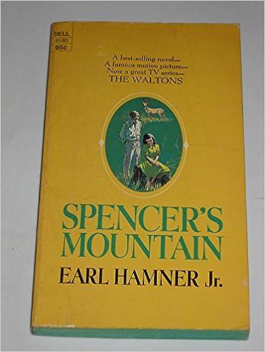 Book Spencer's Mountain