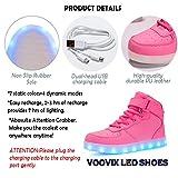 Voovix Kids LED Light Up Shoes USB Charging