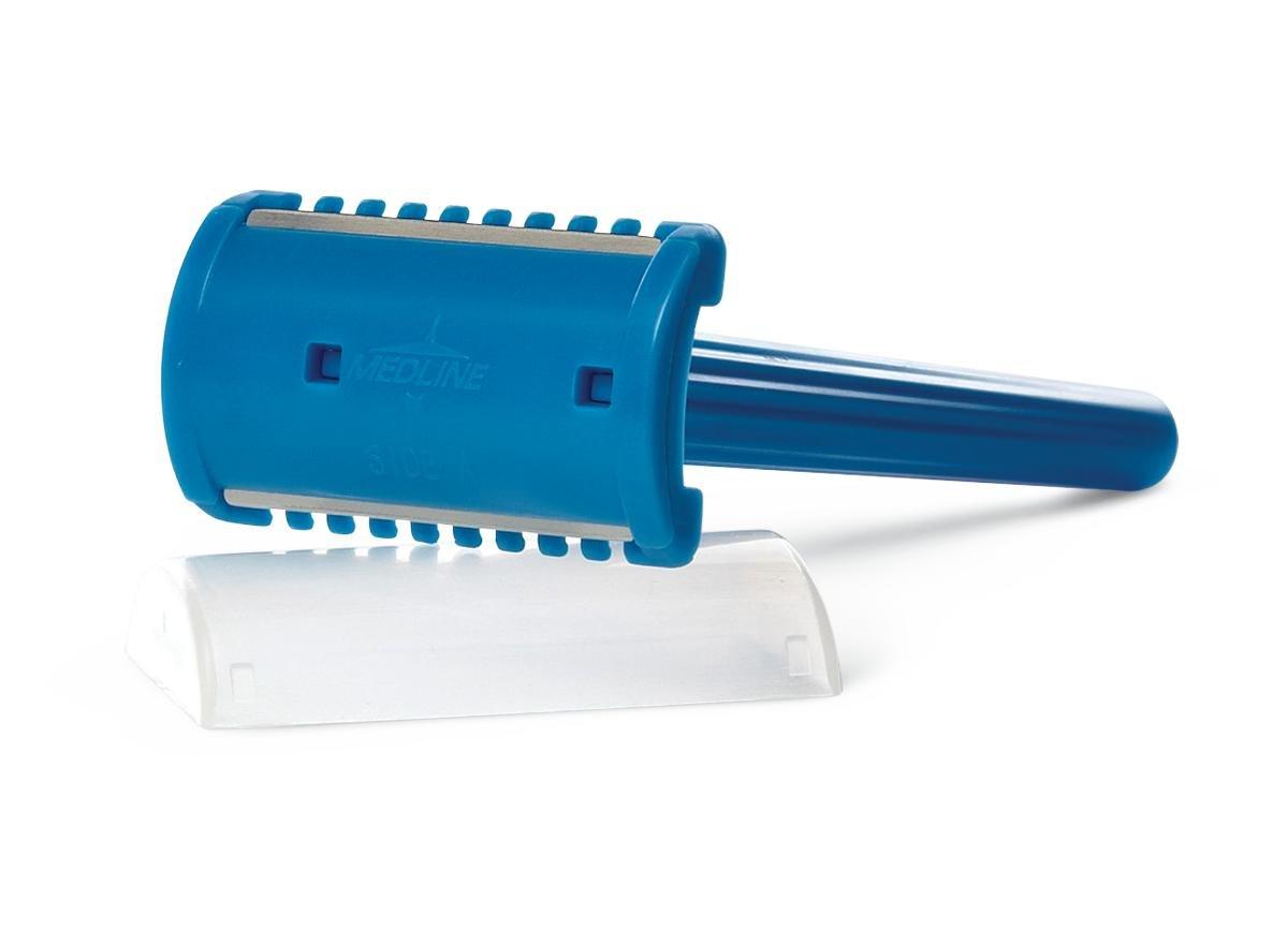 Medline DYND70836 Double-Sided Shave Prep Razor, Sterile (Pack of 100)