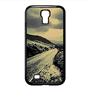 Road On The Hills Watercolor style Cover Samsung Galaxy S4 I9500 Case