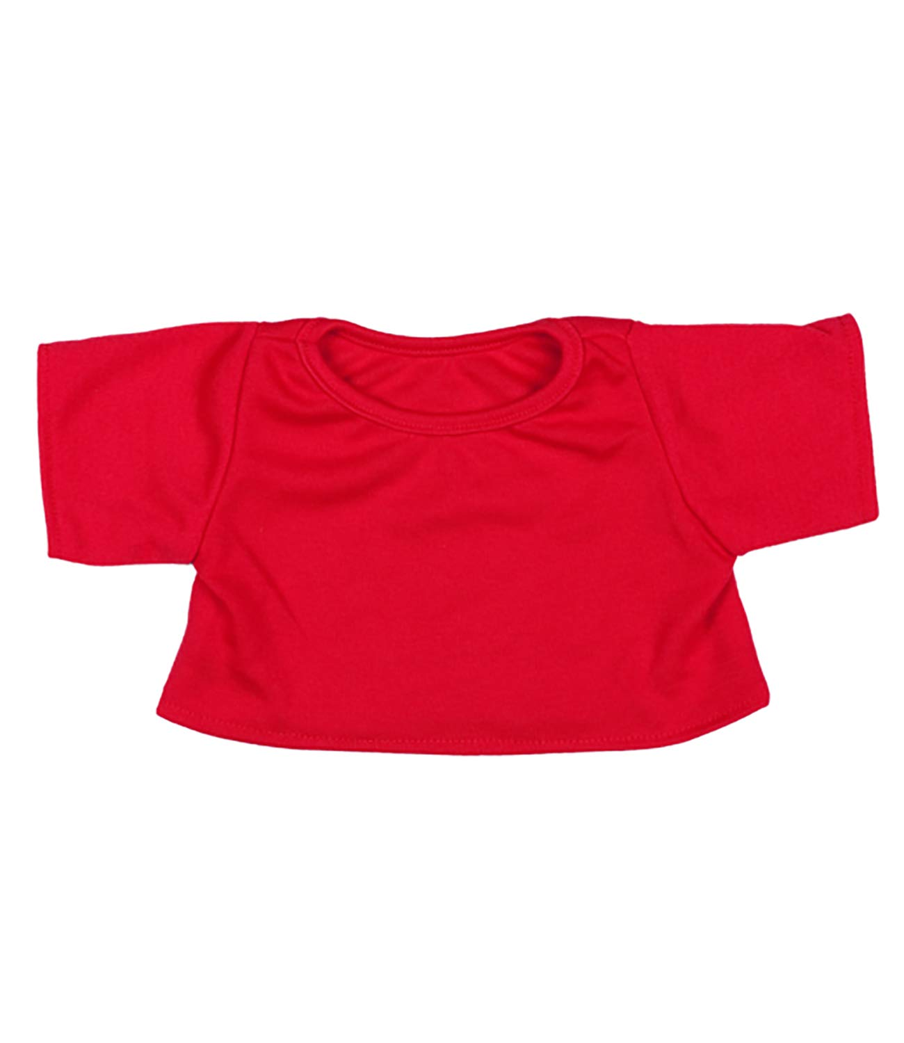 Vermont Teddy Bears Red T-Shirt Outfit Teddy Bear Clothes Fit 14-18 Build-a-bear and Make Your Own Stuffed Animals