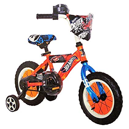 Image of Dynacraft Hot Wheels 12' Bicycle with Training Wheels Bikes