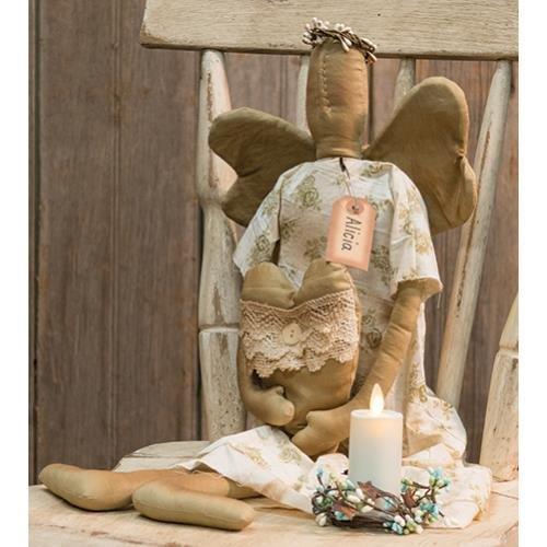 Primitive Angel Doll (Heart of America Primitive Alicia Angel)