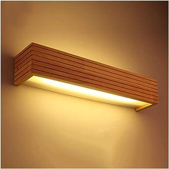 Lámparas para el espejo del cuarto de baño LED de madera maciza de la lámpara de