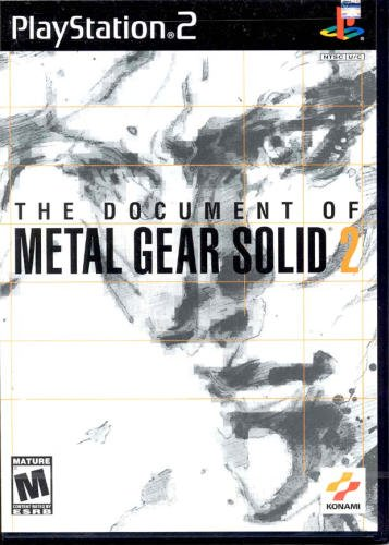Metal Gear Solid 2: The Document (Metal Gear Vr Missions)